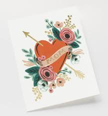 forever greeting card by rifle paper co made in usa
