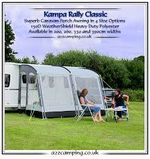 New Caravan Awnings Kampa Awnings New Kampa Awning Range 2016
