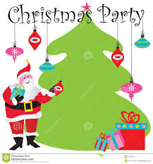 christmas party invitation stock images image 16815874