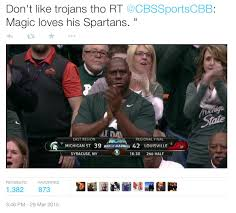 Magic Johnson Meme - magic s johnson and the michigan state spartans blackpeopletwitter