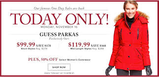 black friday guess hudson u0027s bay canada pre black friday one day sale save 64 off