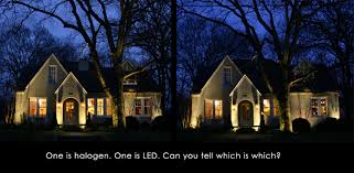 Led Vs Low Voltage Landscape Lighting Outdoor Lighting Led Vs Halogen Www Lightneasy Net