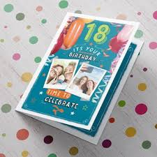personalised 18th birthday cards gettingpersonal co uk