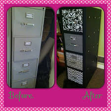 How To Paint A Filing Cabinet Updating Old Metal Filing Cabinets Using Chalkboard Paint And