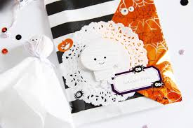 scattered confetti some cute halloween gifts or the importance