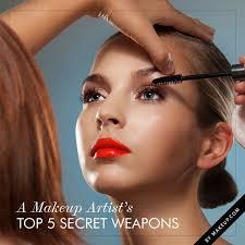 a makeup artist s top 5 secret weapons
