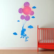 wall stickers for kids bedrooms mattress child and balloon wall light sticker designer night light wall sticker