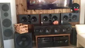 jamo 5 1 home theater system thx ultra 7 2 jamo d6 extended youtube