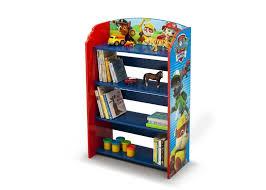 scaffali bambini libreria con mensole in legno paw patrol scaffale per cameretta
