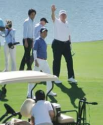 first golfer donald trump u0027s relationship with golf has never been