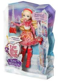 Ever After High Apple White Doll Ever After High Imágenes Ever After High Epic Winter Manzana