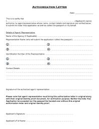 Authorization Letter Claim Passport Dfa Passport Authorization Letter