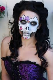 Skeleton Face Painting For Halloween by 55 Best Halloween Images On Pinterest Sugar Skulls Sugar Skull