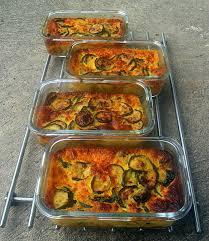 plat cuisiné à congeler flans de courgettes aux épices