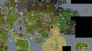 Free World Map Free World Map And Old Runescape And Oldschool