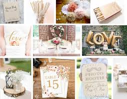 etsy wedding décor treats and trends