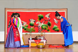 backdrop wedding korea korea usc pacific asia museum