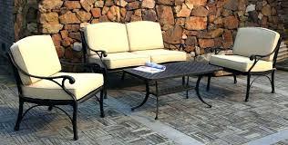 Patio Chairs Metal Outdoor Metal Furniture Carlislerccar Club