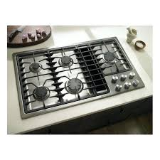 36 Induction Cooktop With Downdraft Ge Profile 36 Inch Downdraft Cooktop 36 Inch Gas Cooktop With