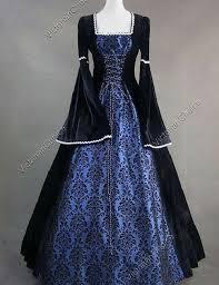 Queen Elizabeth Halloween Costume Elizabeth Medieval Renaissance Dress Theatrical Witch Halloween