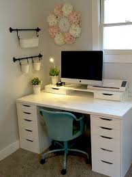 Small Desk Table Ikea Craft Room Ikea Alex Linnmon Diy Crafts Pinterest Ikea