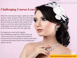 make up courses taking up courses in hair and make up academy in delhi a decision