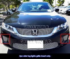 2001 honda accord fog lights for 2013 2015 honda accord coupe fog light cover grille inserts ebay