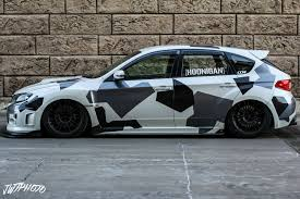 subaru hoonigan joe u0027s bagged sti hatch subaru
