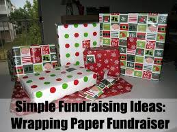 christmas wrapping paper fundraiser for a really simple fundraising idea try the wrapping paper
