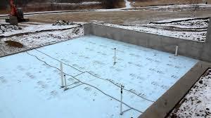 basement foam under concrete degnan design builders mov youtube