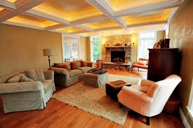 Living Room Ceiling Beams 33 Living Room Designs With Beautiful Woodwork Throughout