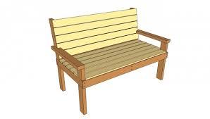 park bench plans treenovation