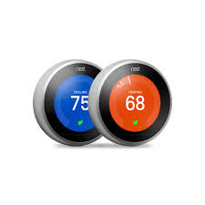 Radio Frequency Ac Thermostat Touch Screen Wifi Thermostats Thermostats The Home Depot