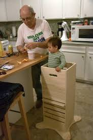 learning tower toddler step stools kitchen helper stool plans with