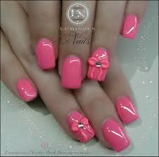love the color and the bow just makes them look so pretty nails