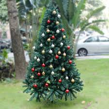 6ft 1 8m luxury christmas tree green artificial xmas tree assorted