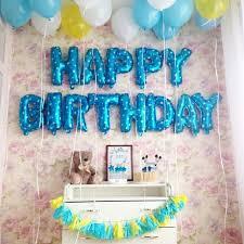letter balloons happy birthday letter balloons design craft handmade goods