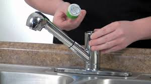 fix a kitchen faucet how to replace a ceramic disc cartridge from a ks881c kitchen