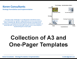 collection of a3 and one pager templates powerpoint