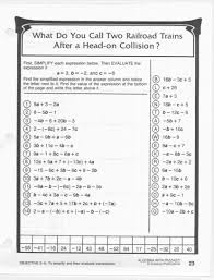 did you hear about math worksheet answers algebra with pizzazz