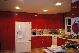 Gloss Red Kitchen Doors - kitchen room design astonishing red gloss u shaped kitchen