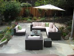 wicker home decor l shaped wicker patio furniture patio outdoor decoration
