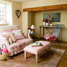 country livingroom furniture small country living room with pink floral pattern