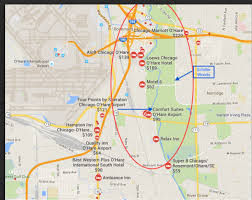 Map Of Chicago Airport Great Runs In Chicago U2013 Great Runs U2013 Medium