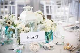 coastal centerpieces cape cod at wychmere club coastal wedding lantern