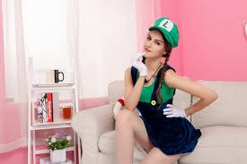 Mario Halloween Costumes Girls Aliexpress Buy Super Mario Halloween Costume Women Fancy