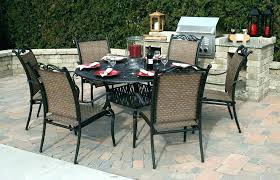 patio dining table set round outdoor patio dining sets nicety info