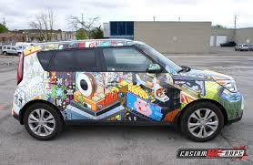 kia soul logo art car kia soul customwraps ca