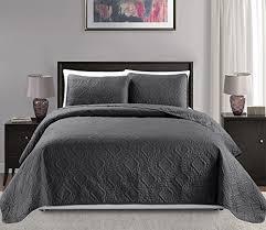 Charcoal Duvet Cover King Charcoal Bedding Amazon Com