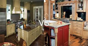 what is the best stain for kitchen cabinets painted vs stained cabinets which is best kitchen